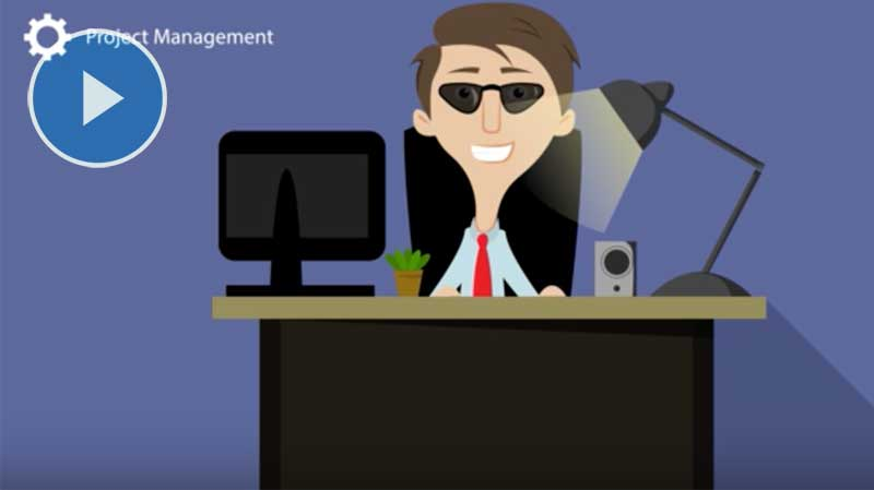 Motion Graphic - Animation - Oracle EBS